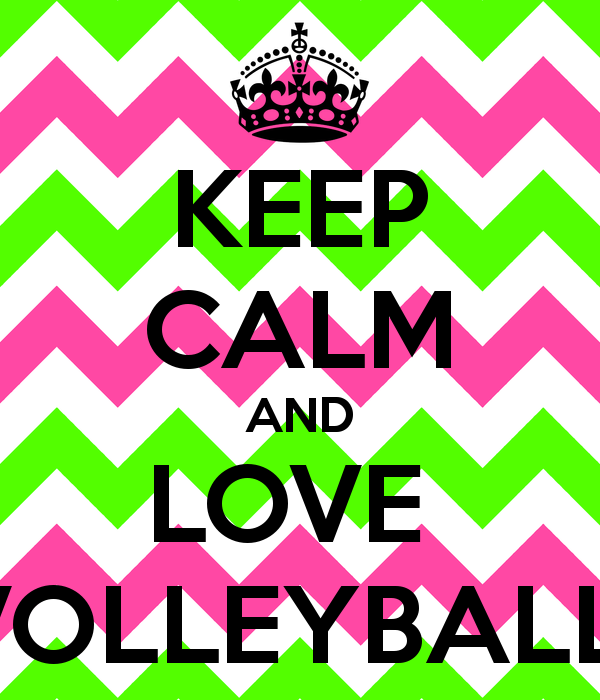 Peace Love Volleyball Backgrounds