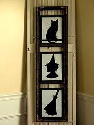 Love the silhouettes! #nachtvorallerheiligen