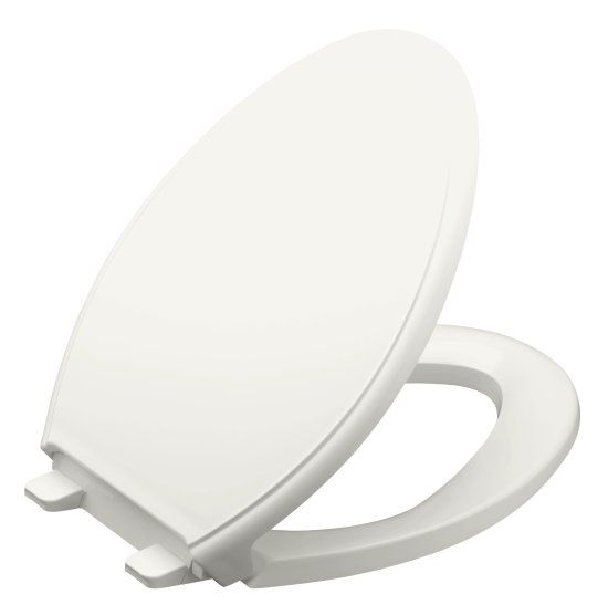 Glenbury Elongated Toilet Seat With Q3 Quiet Close Advantage
