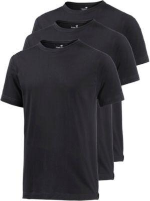 TOM TAILOR TOM TAILOR T-Shirt Herren schwarz