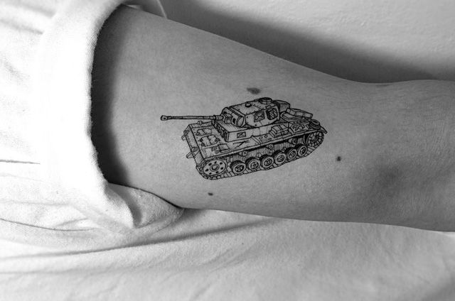 Tank tattoo graphic tattoo pinterest tattoo for Think tank tattoo