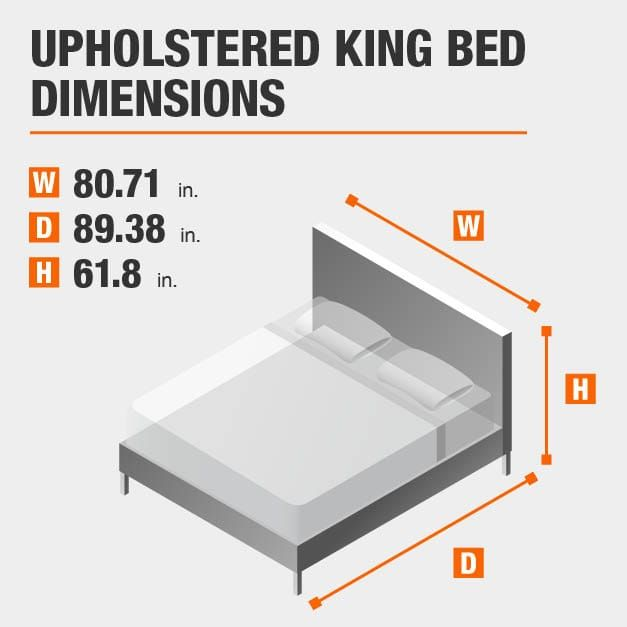 Bed Sizes And Space Around The Bed Queen Mattress Size Mattress Sizes Bed Frame Sizes