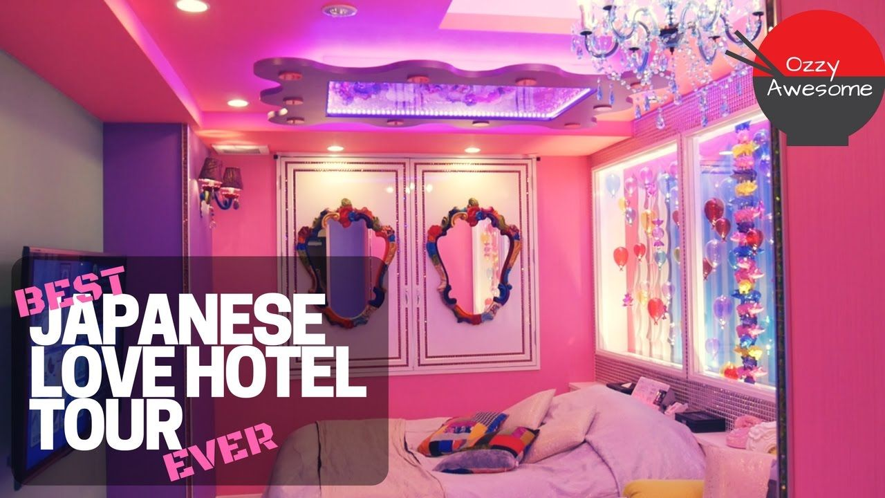 Best Japanese Love Hotel Ever 字幕付き Love Hotel Japan