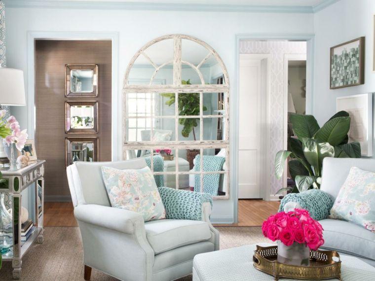 ideas de espejos para decorar Sala de estar Pinterest - ideas para decorar la sala