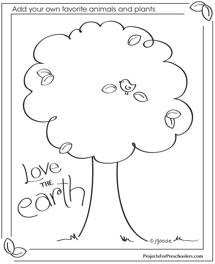 love the earth coloring page coloring pages pinterest earth and free printables. Black Bedroom Furniture Sets. Home Design Ideas