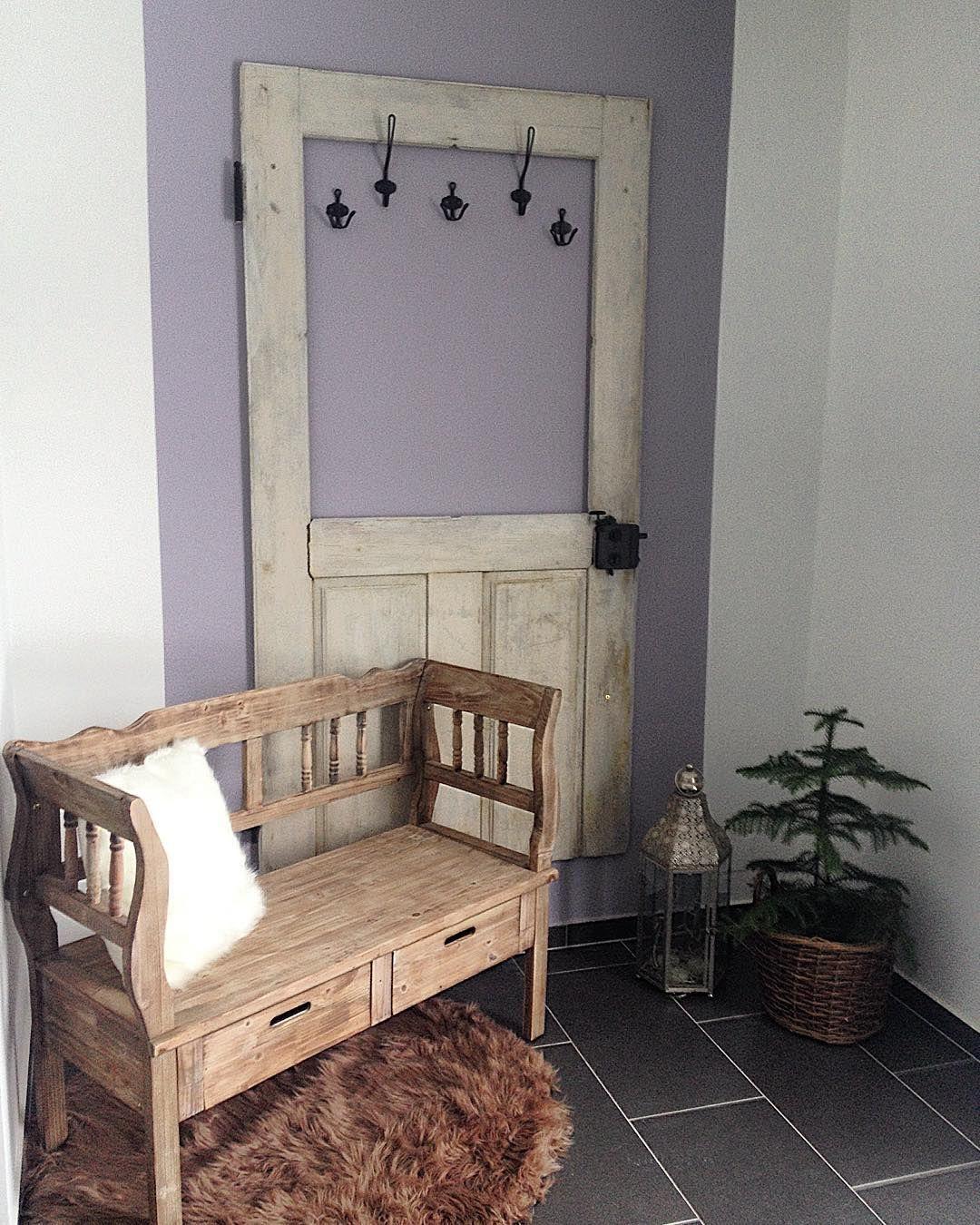 Alte Tür Als Garderobe alte tür als garderobe diy alte türen türen und