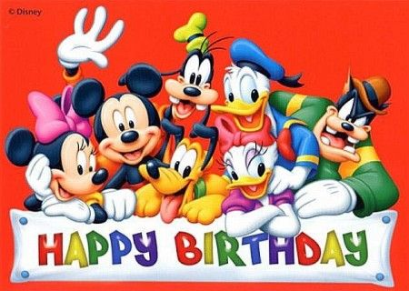 Discover Ideas About Happy Birthday Mickey Mouse