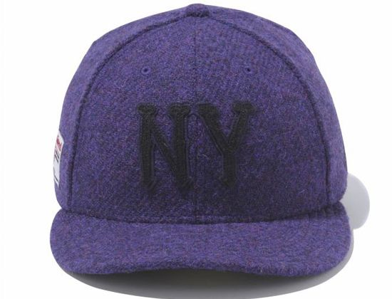 a888674e7e2 Purple Harris Tweed NY Highlanders 59Fifty Fitted Cap by NEW ERA x ...