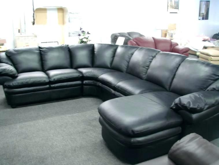 Black Sectional Sofa With Chaise | Sofa | Leather couch ...