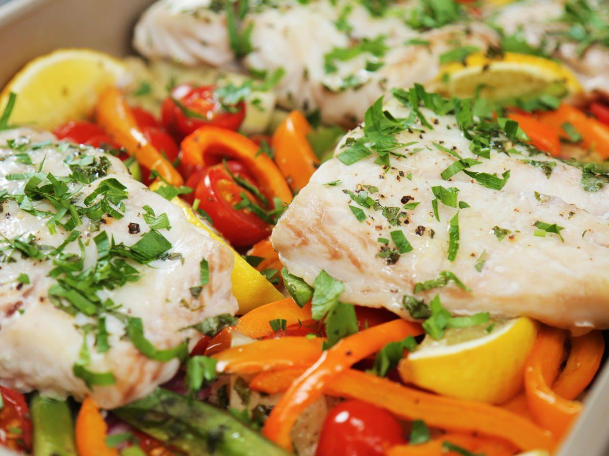 Watch Greek Tilapia Tender Salad video