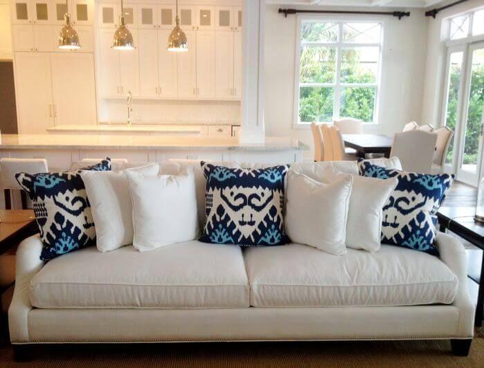 35 Sofa Throw Pillow Examples Sofa Decor Guide White Sofa