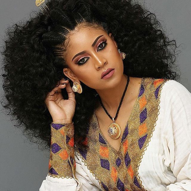 Be A Princess Ethiopian Habeshagirl Habeshabride Habeshastyle Habesha Hair Ethiopian Hair Ethiopian Wedding Dress Ethiopian Beauty