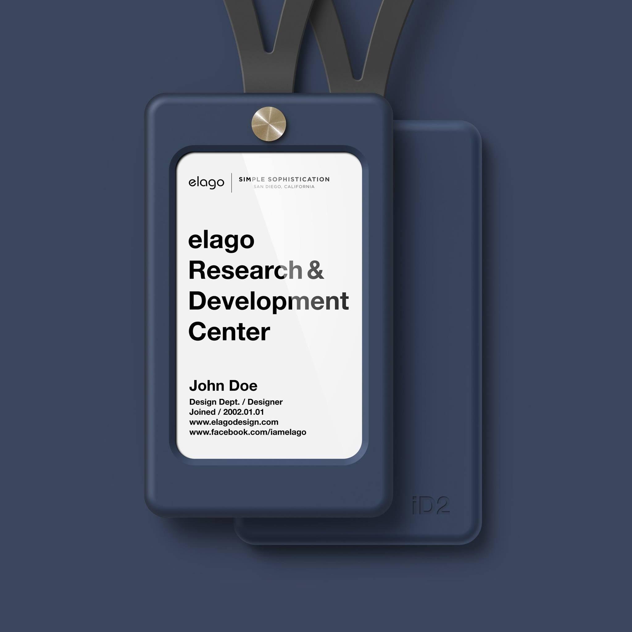 elago ID2 ID Card Holder Jean indigo Elago