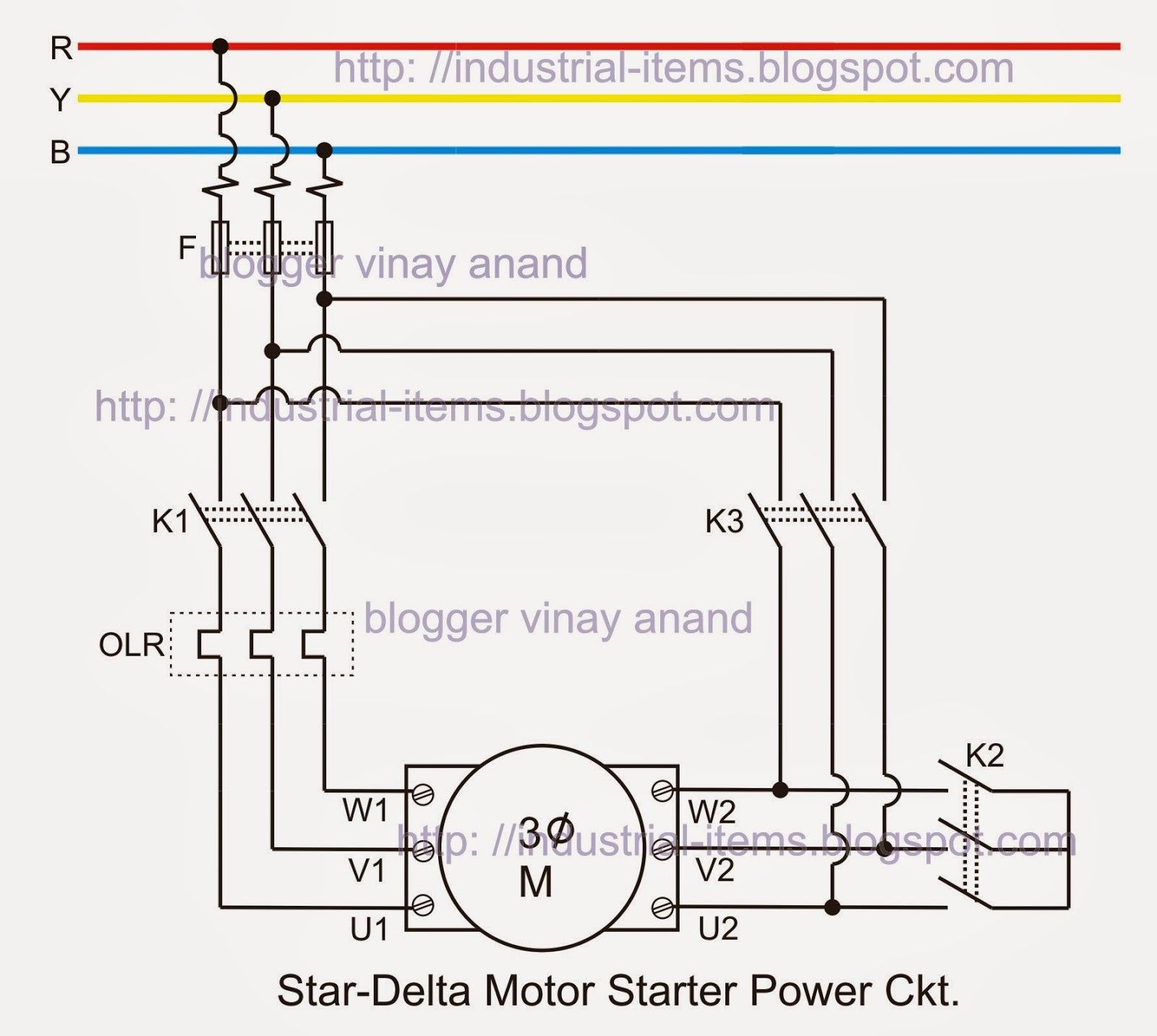 Wiring Diagram For 3 Phase Ac Motor Poster