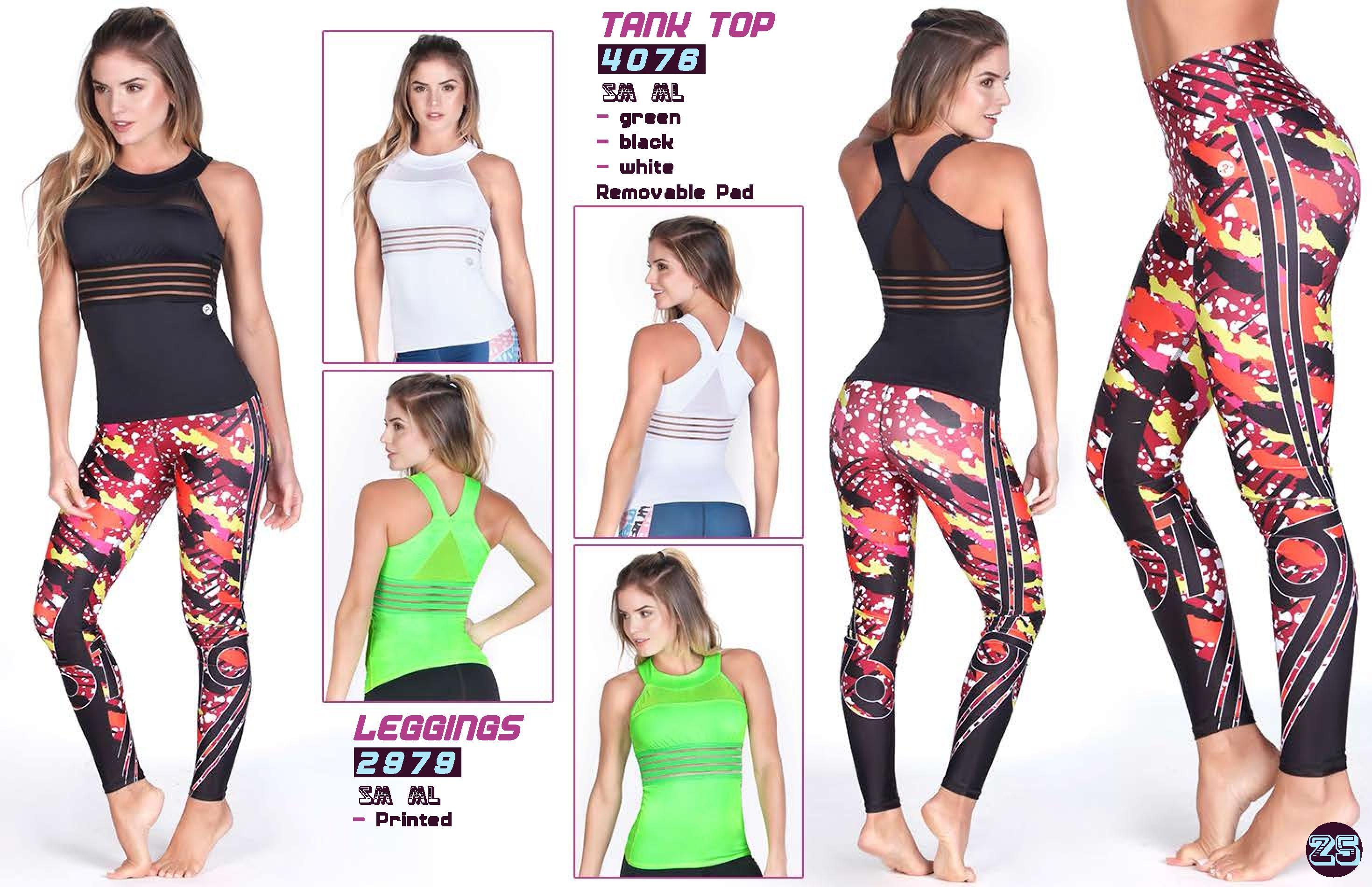 Neon Green Fitness Tank Top Sportswear Online Shop UAE