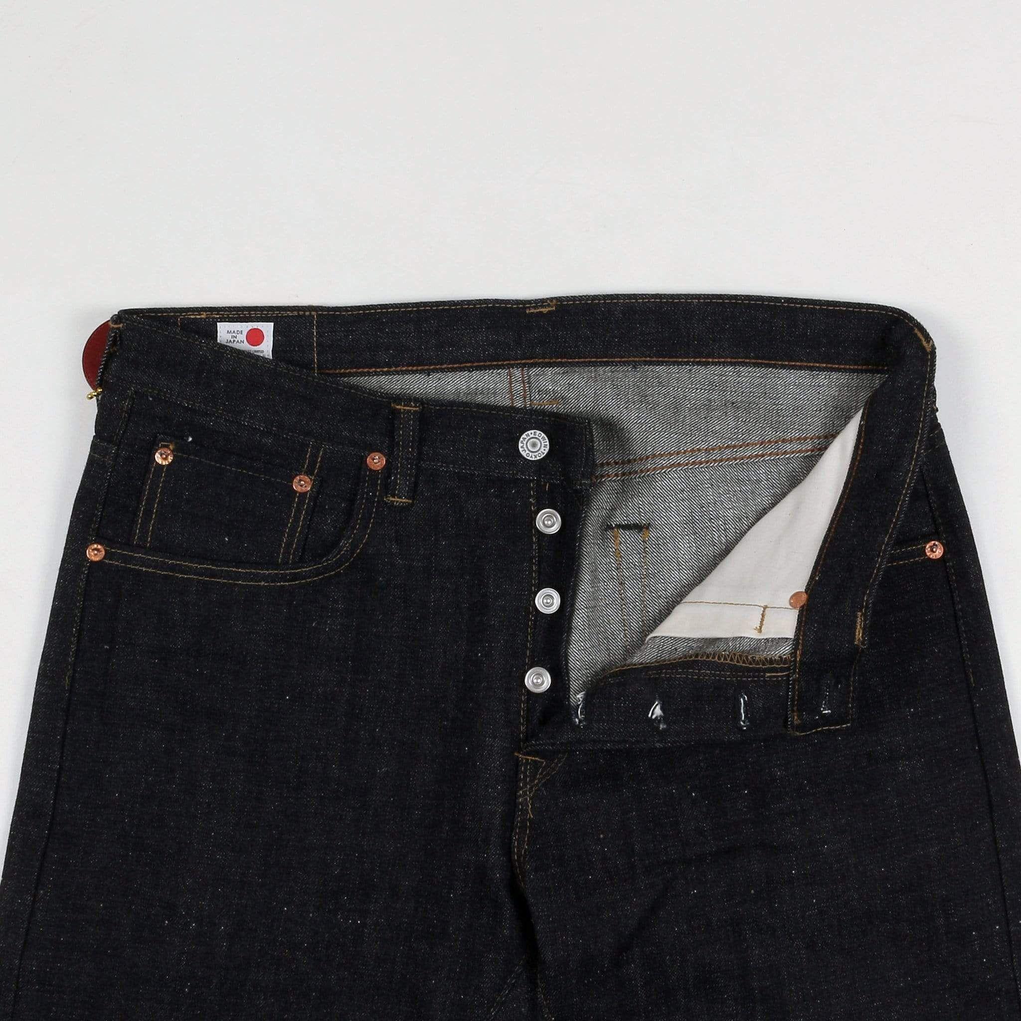 Edwin Japan Regular Tapered Mens Jeans Nihon Menpu Selvage Denim Open Weave