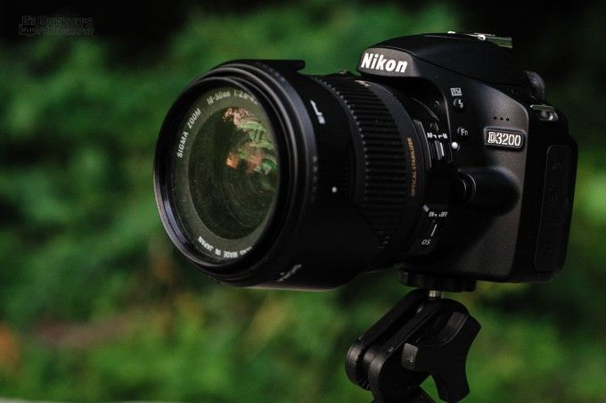 I received a Nikon D3200 test unit  We have begun our review and