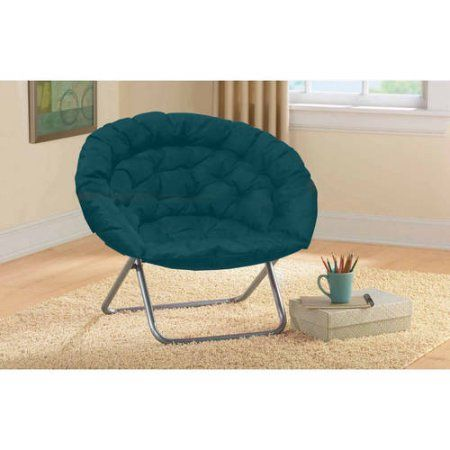 Oversized Moon Chair Available In Multiple Colors Blue