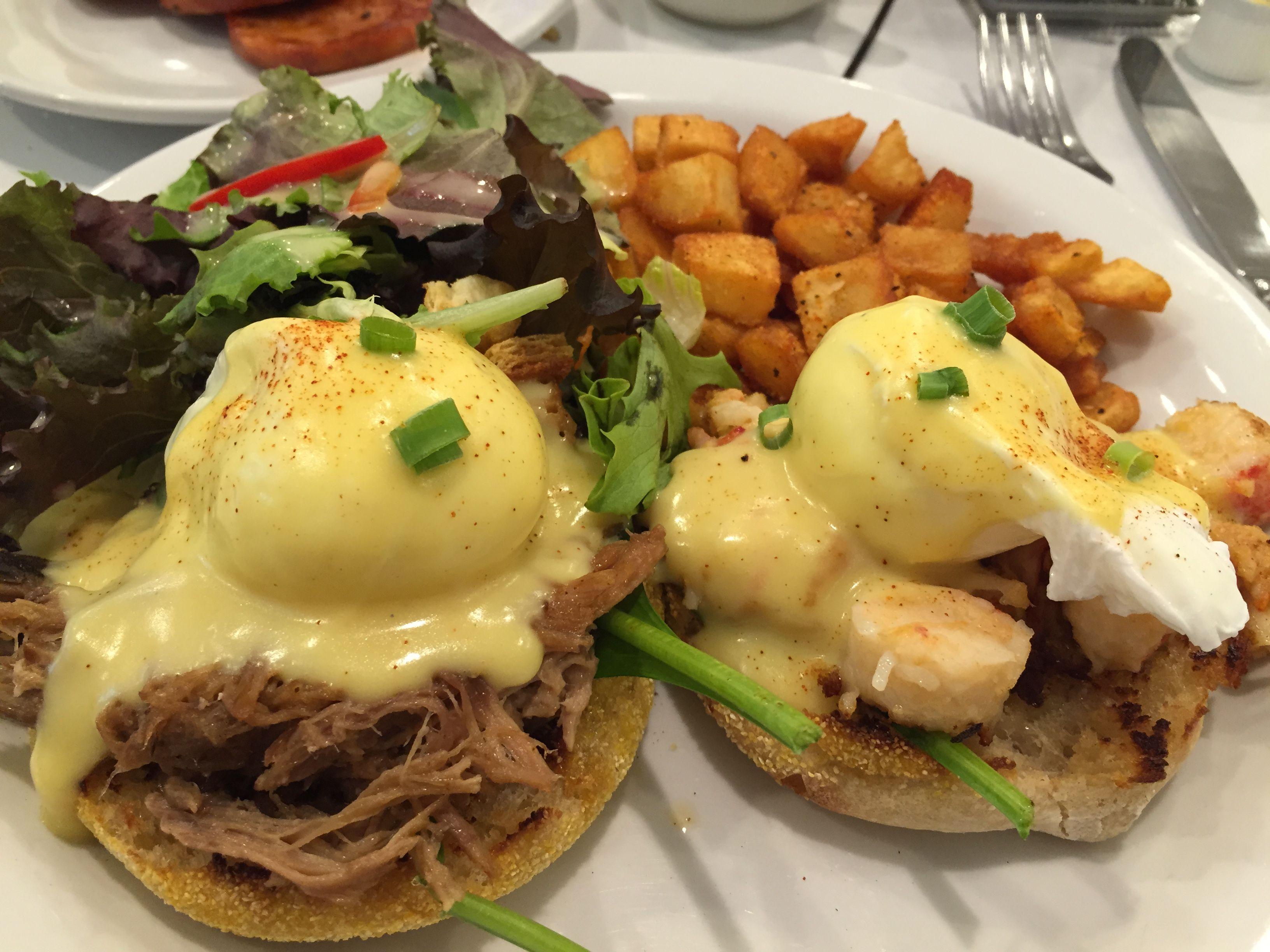 Aloha Kitchen Kalua Pork Lobster Benedict Kalua Pork Food