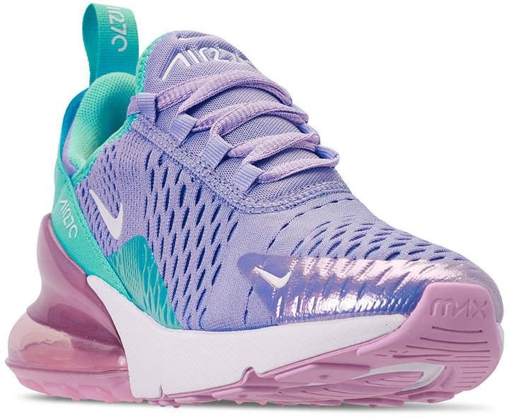 Nike Max Finish 270 Sneakers Unicorn from Air Girls' Casual jAL45R
