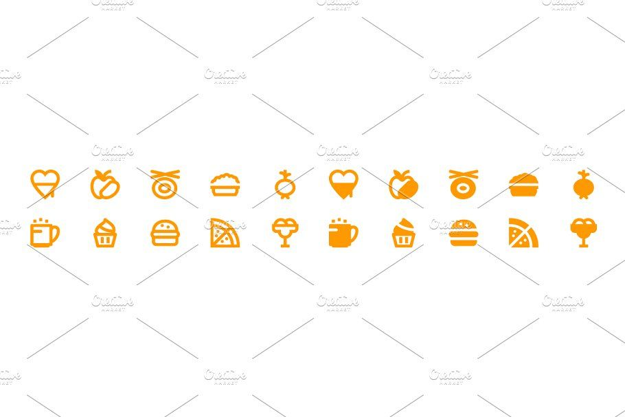 340 Food And Drinks Material Icons In 2020 Book Design Glyph