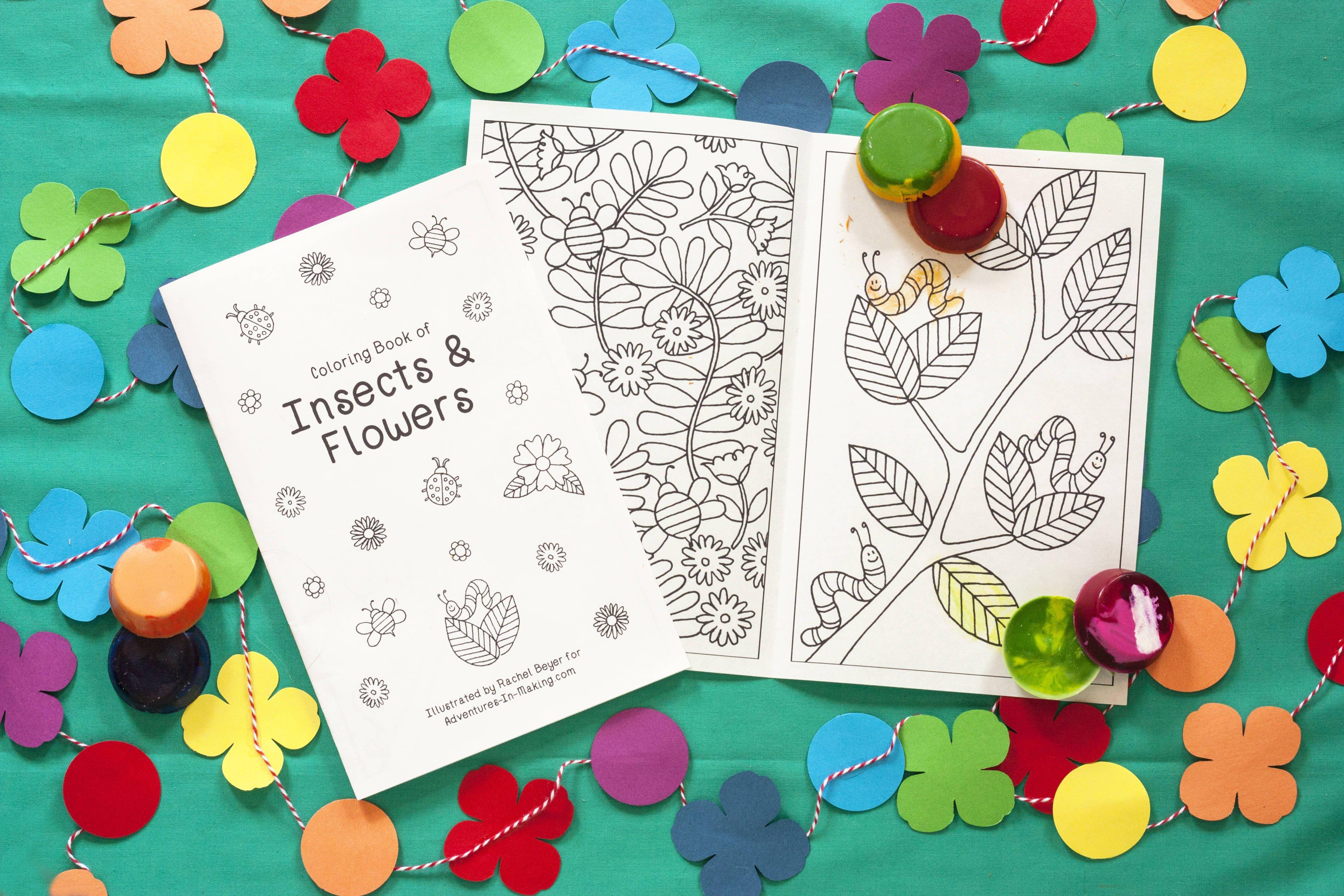 Diy Crayons Free Printable Coloring Book