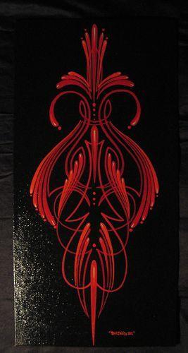 Pin By Rockabilly Belle On Kustom Art Pinstriping Designs Pinstriping Pinstripe Art
