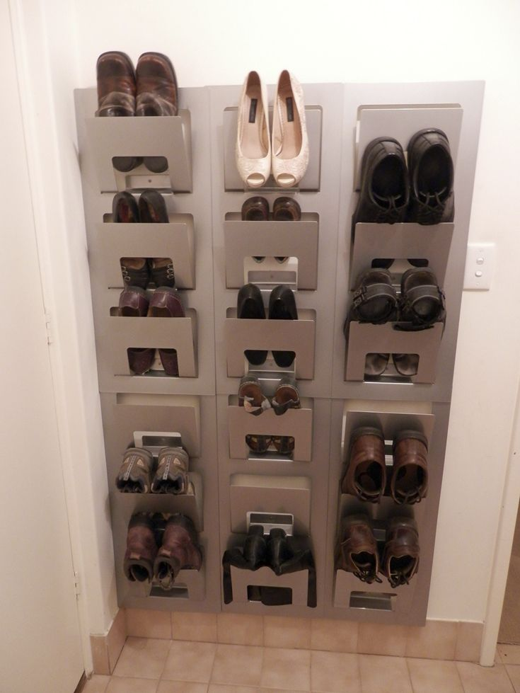 15 clever diy shoe storage solutions for small spaces closets diy shoe rack ikea hackers. Black Bedroom Furniture Sets. Home Design Ideas