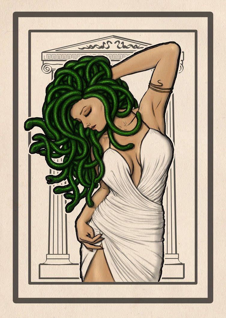 90's Porn Film Medusa Goddess pinterest