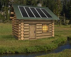 Zamp Solaru0027s Largest Cabin Kit, 750 Watt Of Charging Power.