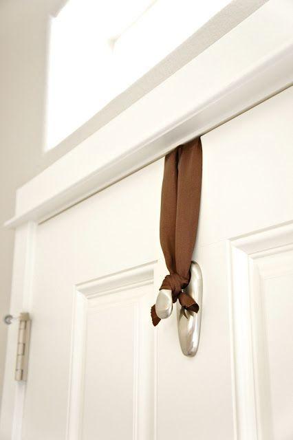 How To Hang A Door Wreath Without Nails Door Wreaths Door Decorations Wreaths