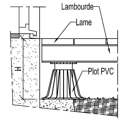 Croquis Des Elements Pour Pose Sur Plots Terrasse Sur Plots Construction Terrasse Bois Terrasse