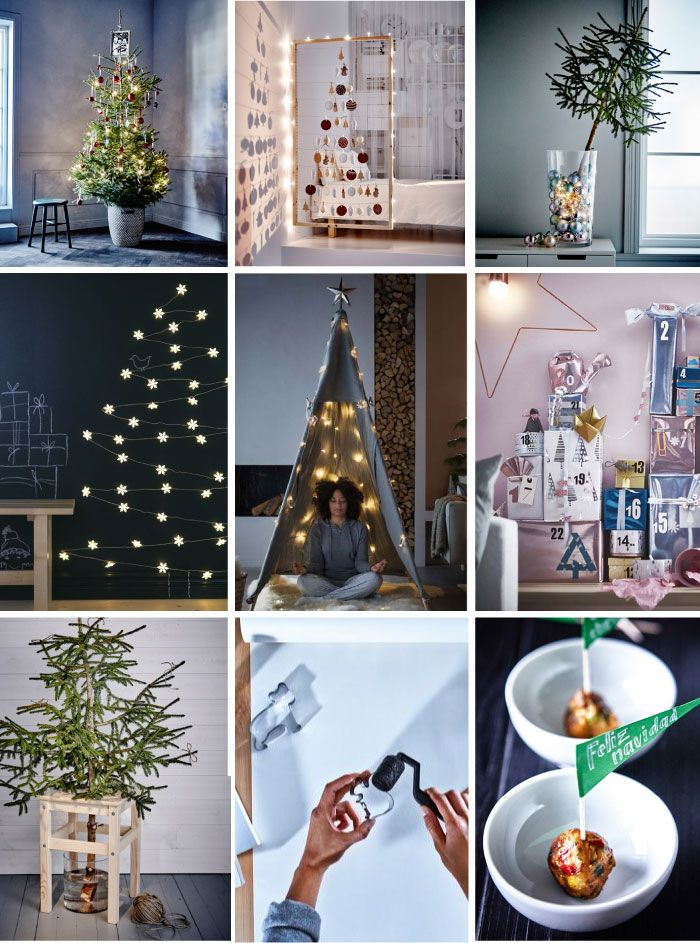 10 ikea hack ideas for the holidays ho ho pinterest weihnachten weihnachtszeit und basteln. Black Bedroom Furniture Sets. Home Design Ideas