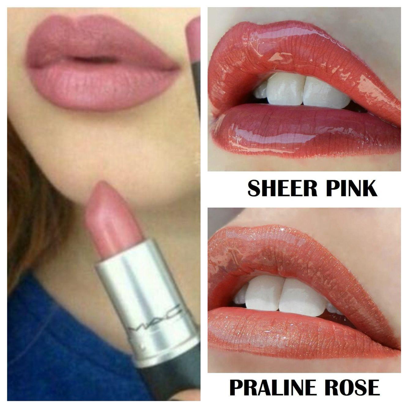 LipSense color match: 2 coats praline rose 1 coat sheer pink Lasts ...