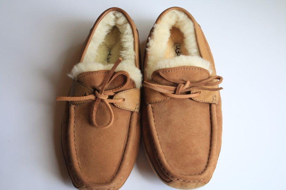 3c356183884 UGG Byron Slipper 5102 Chestnut Brown Tan Men's Size 7 | Cozy UGG ...