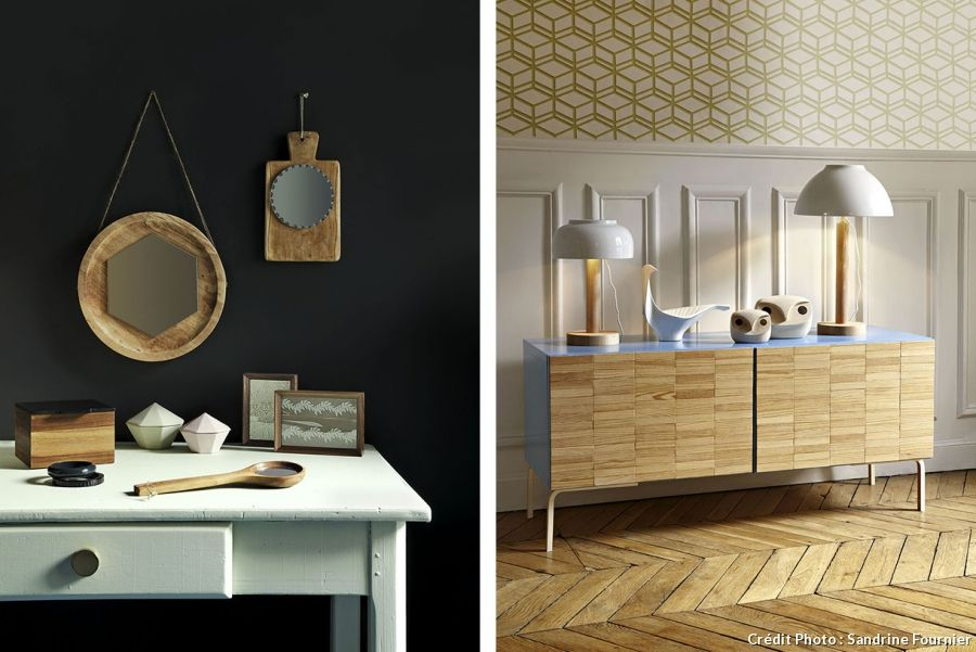 DIY meuble  fabriquer un meuble en bois design Logs