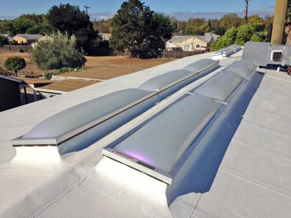 Springstowne Library Vallejo, CA State Roofing Systems EcoSky3   E3CS Units