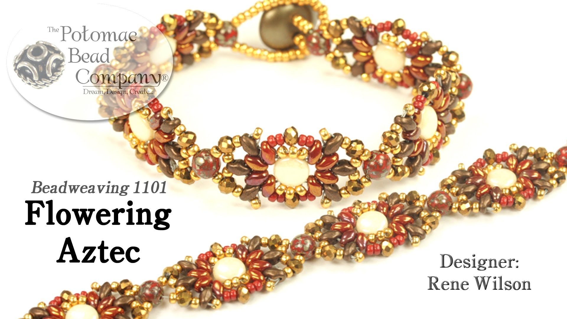 Flowering aztec bracelet diy pinterest aztec beads and bracelets
