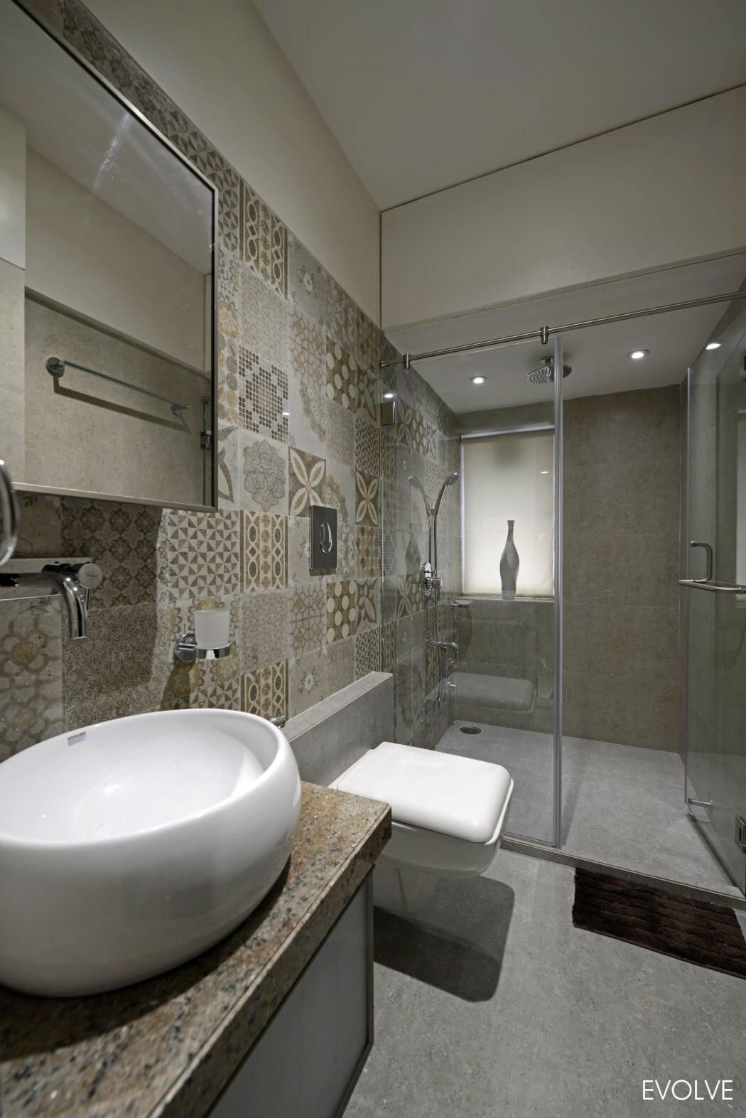 Modern Apartment Modern Bathroom Decor Ideas