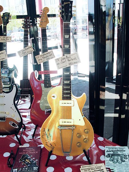 1953 Gibson Les Paul - Signed By Carl Perkins, who wrote the