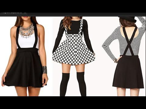 DIY Overall Skater Dress   Easy ESewing  - YouTube  ac9a0ebd0