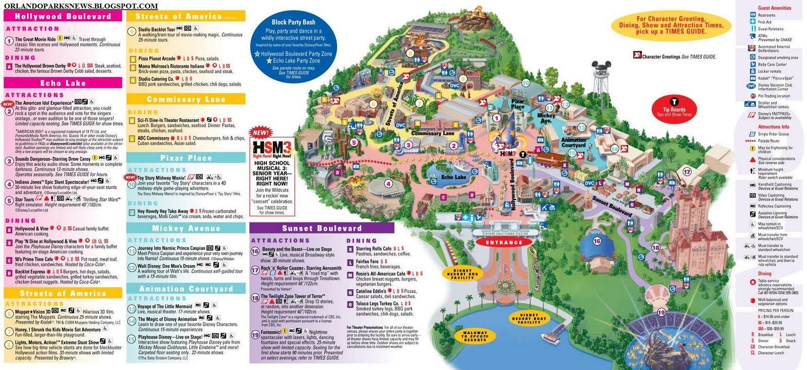 MGM Studios Orlando Theme Park | Disney's Hollywood ...