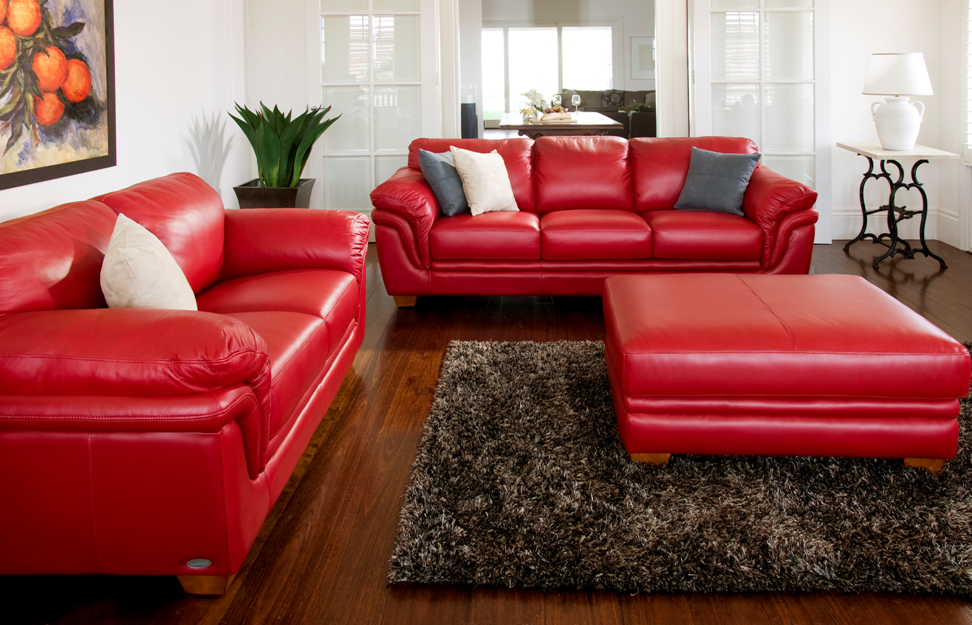 Martelli 2 Piece Leather Lounge Suite From Harvey Norman New Zealand Lounge Suites Leather Lounge Red Leather Sofa