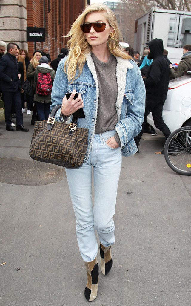 162b9b145ad9 The Denim Outfit Every NYC Girl Will Wear for the Next 2 Months ...