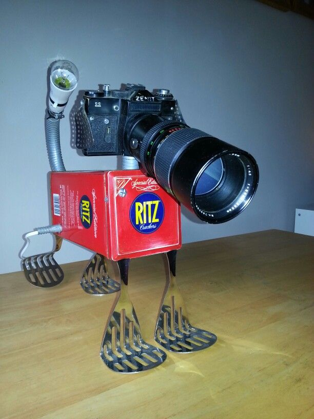 How to make a robot dog out of junk