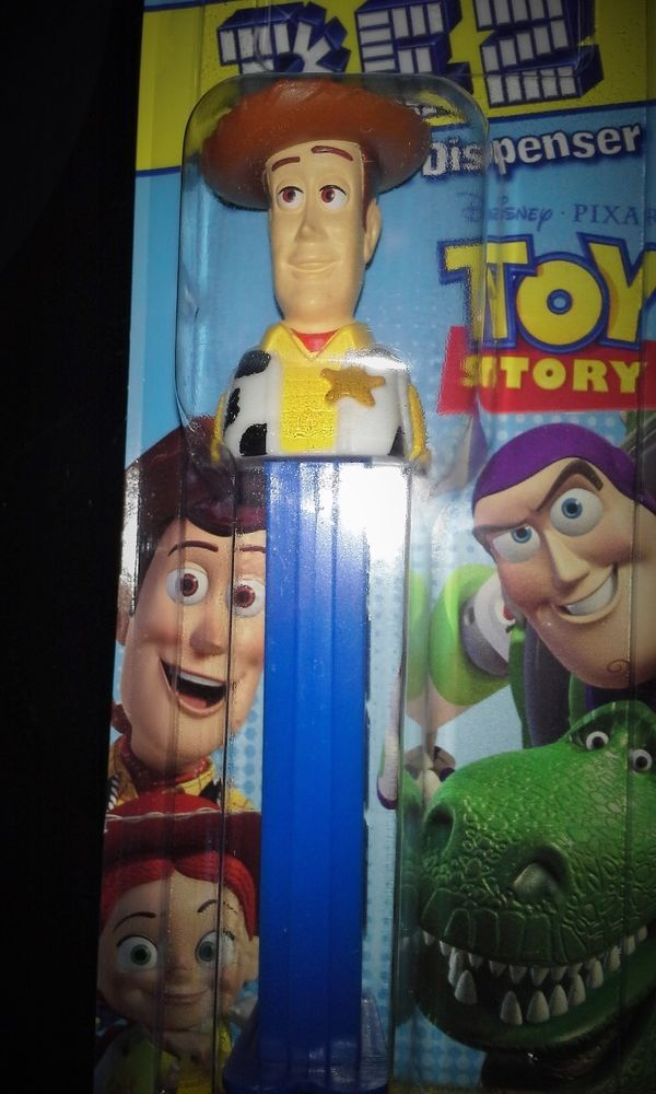 PEZ TOY STORY WOODY PEZ DISPENSER & CANDY PEZ DISPENSERS