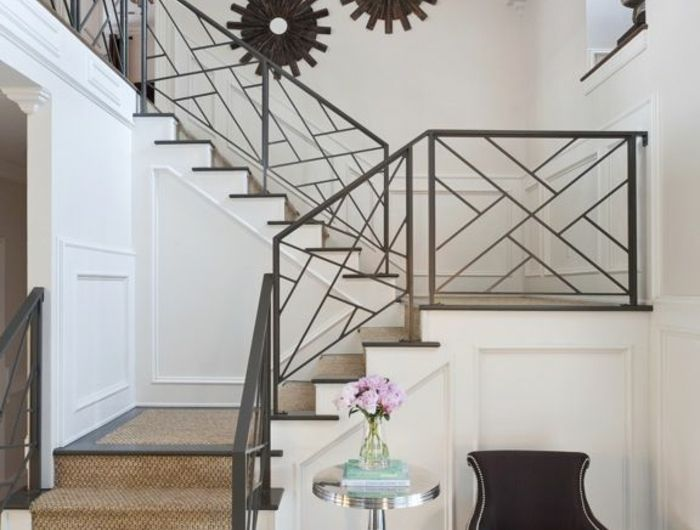 Le tapis pour escalier en 52 photos inspirantes! Railings, Front