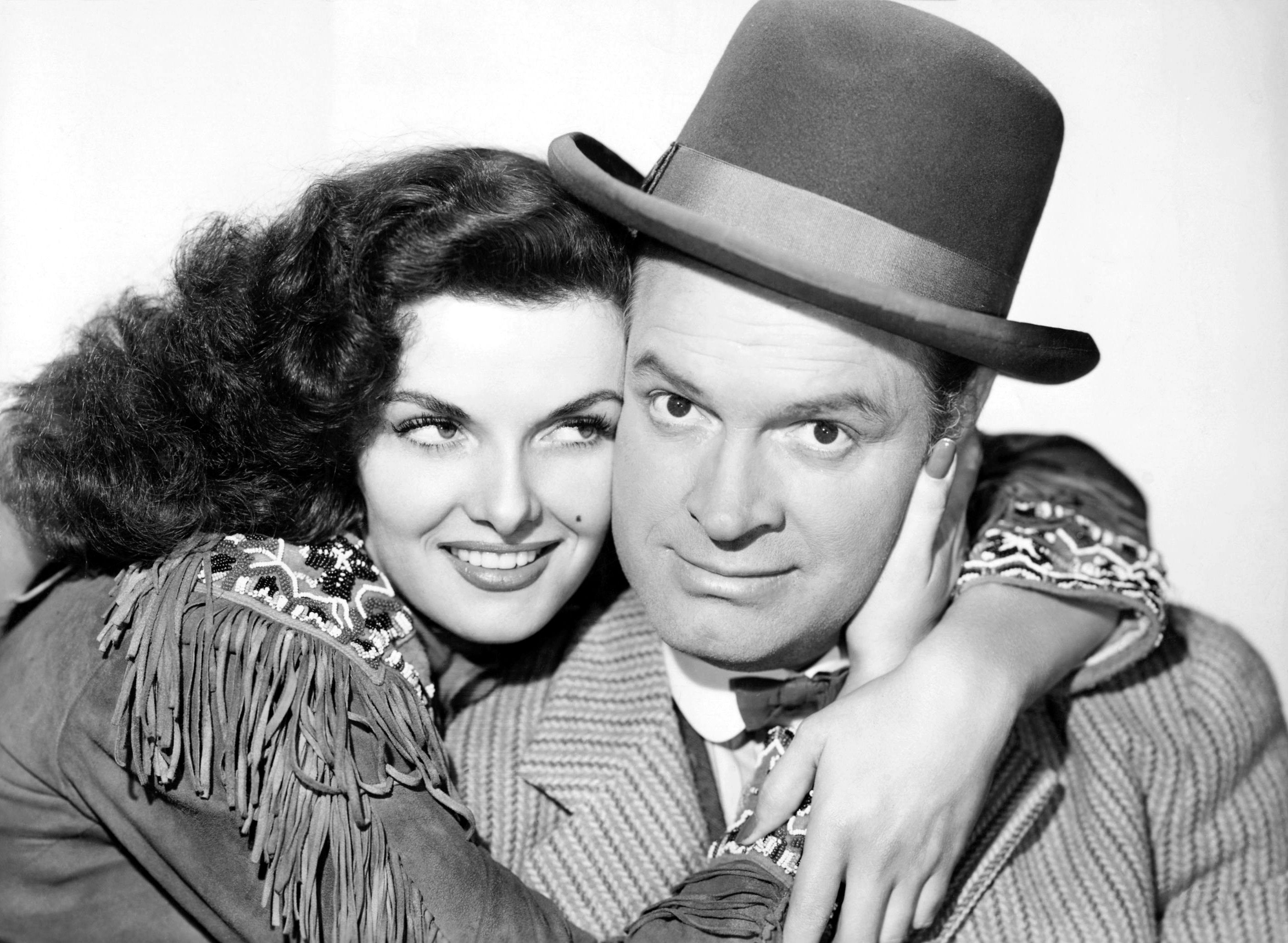 Bob Hope with Jane Russell