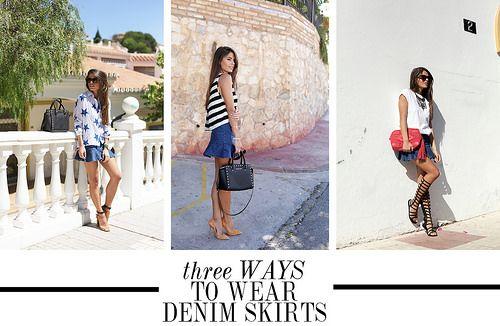 denim-skirts