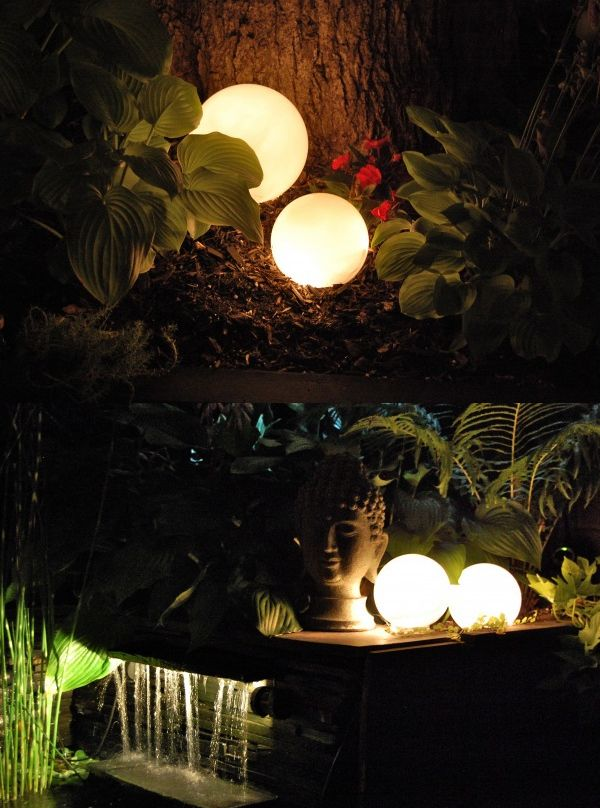 Diy Glowing Orbs Lights With Images